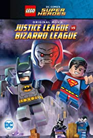 Lego DC Comics Super Heroes: Justice League vs. Bizarro League Poster