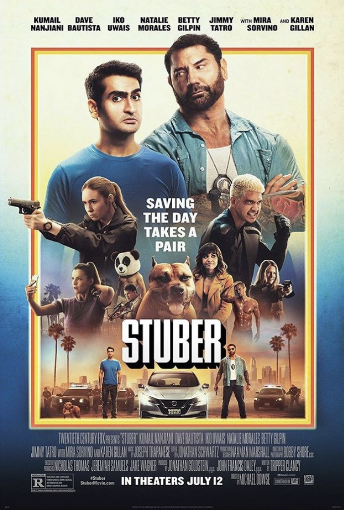 Image result for stuber movie poster