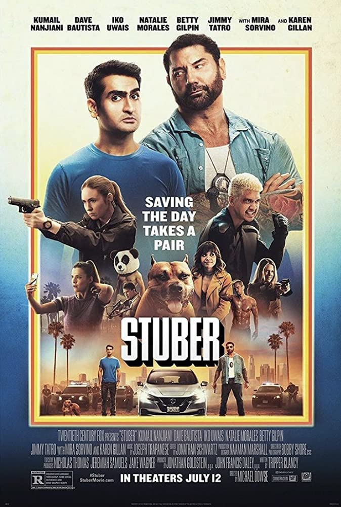 Stuber (2019) BluRay Dual Audio [Hindi – English] x264 AAC Msub