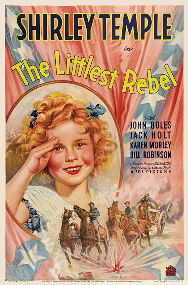 Shirley Temple in The Littlest Rebel (1935)