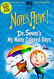NotesAlive!: Dr. Seuss' My Many Colored Days Poster