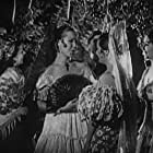 Carmen Laroux, Rosa Rey, and Joan Woodbury in Song of the Gringo (1936)