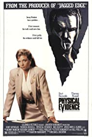 Burt Reynolds and Theresa Russell in Physical Evidence (1989)