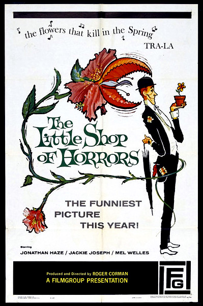 Roger Corman/'s The little shop of horrors movie poster