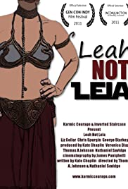Leah Not Leia Poster