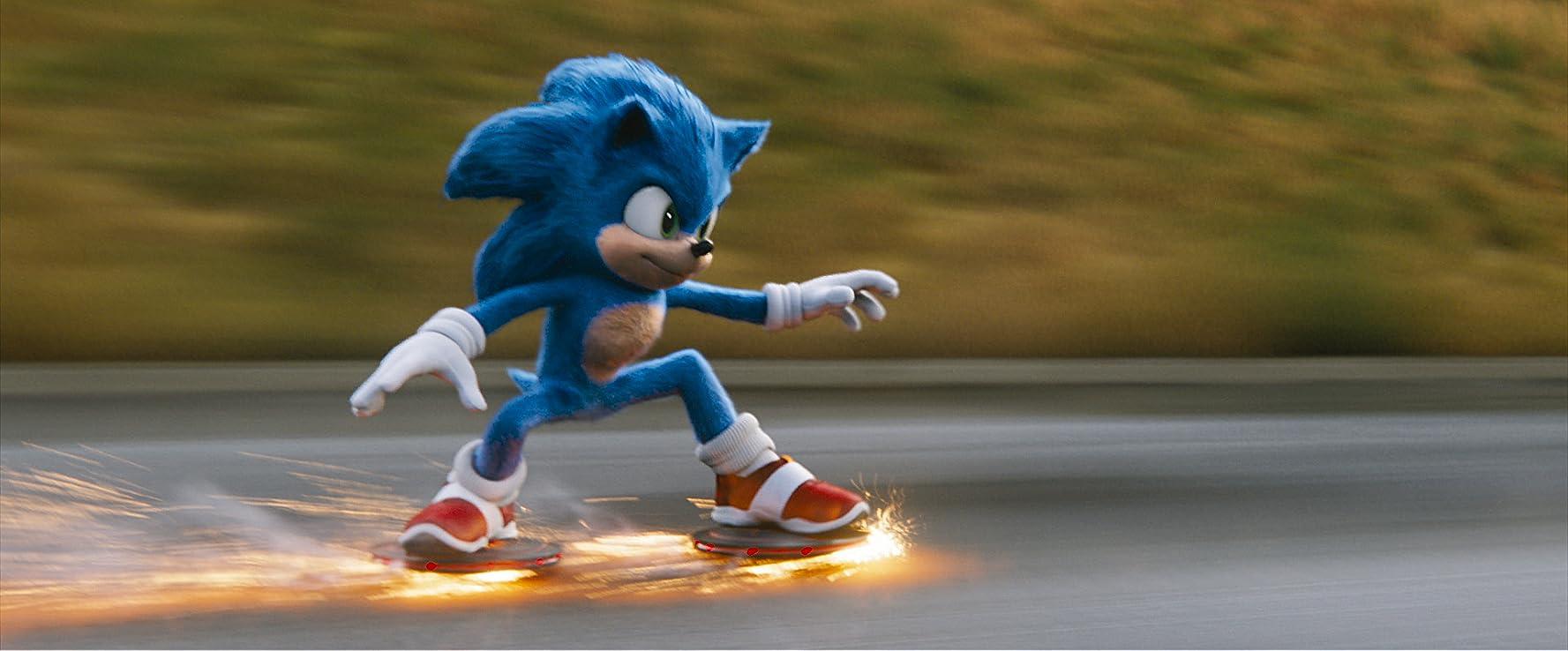 Ben Schwartz in Sonic the Hedgehog (2020)