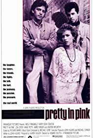 Molly Ringwald, Andrew McCarthy, and Jon Cryer in Pretty in Pink (1986)