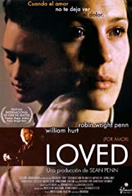 William Hurt and Robin Wright in Loved (1997)