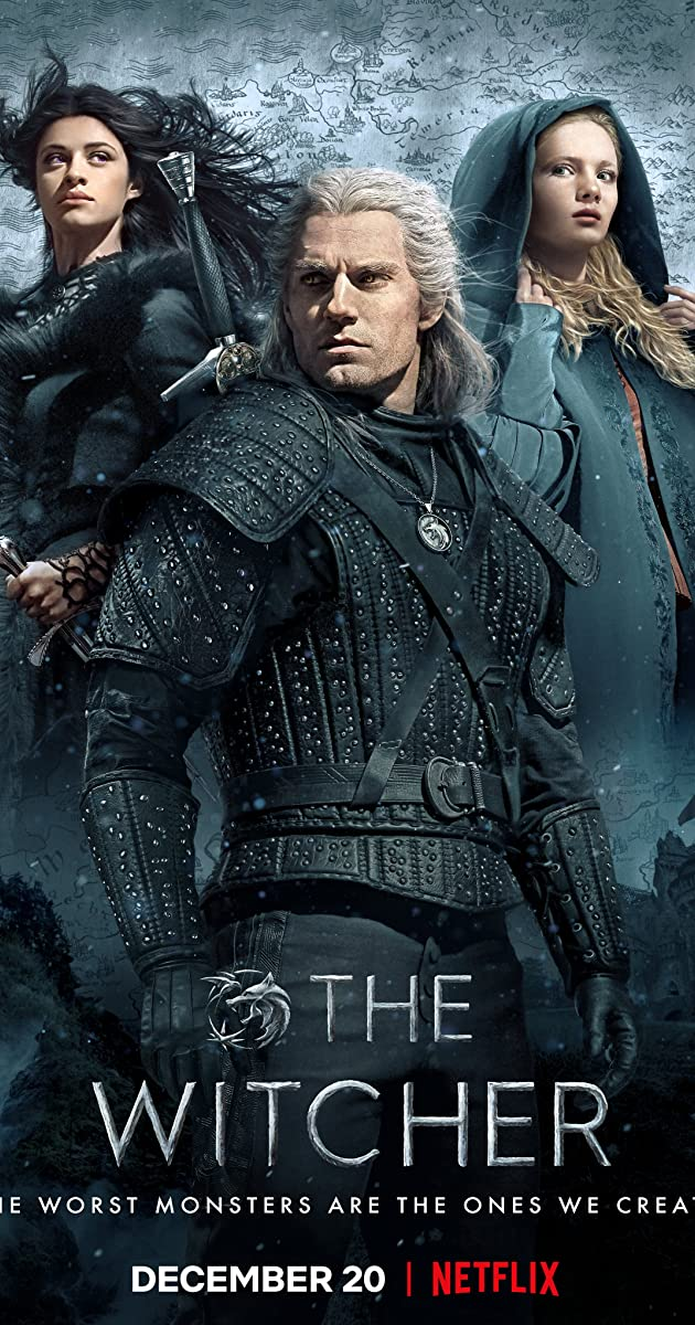 download scarica gratuito The Witcher o streaming Stagione 1 episodio completa in HD 720p 1080p con torrent