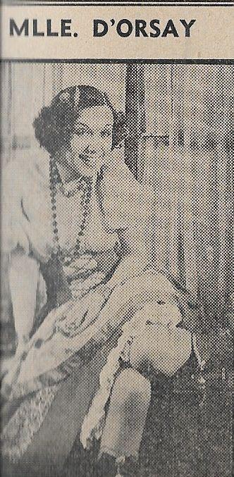 Fifi D'Orsay in Three Legionnaires (1937)