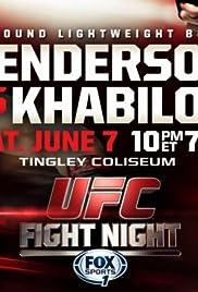 UFC Fight Night: Henderson vs. Khabilov Poster