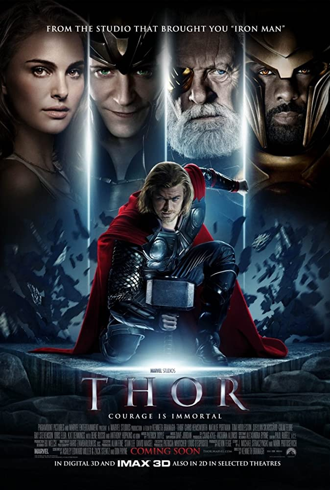 Thor 2011 Movie BluRay Dual Audio Hindi Eng 300mb 480p 1GB 720p 4GB 8GB 16GB 1080p