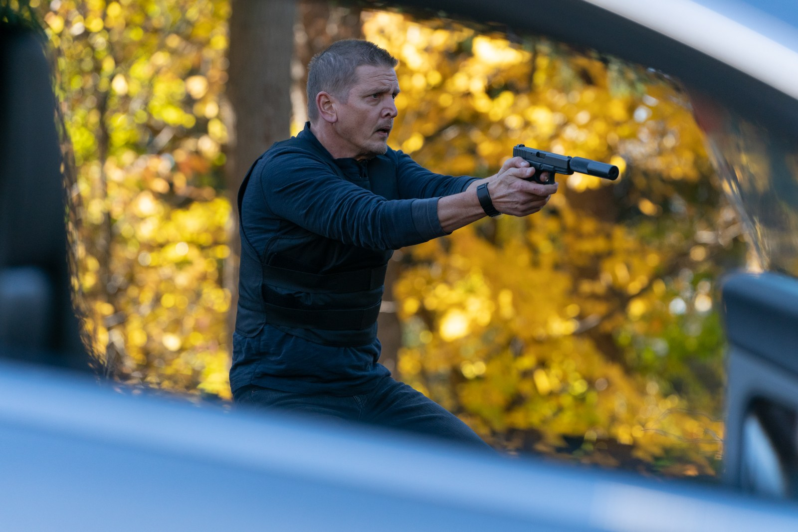 Barry Pepper in Trigger Point (2021)