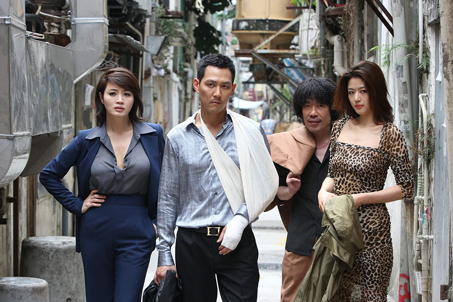 Jung-jae Lee and Dal-su Oh in Dodookdeul (2012)