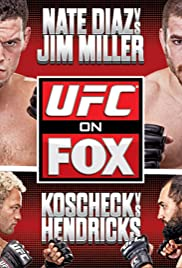 UFC on Fox: Diaz vs. Miller Poster