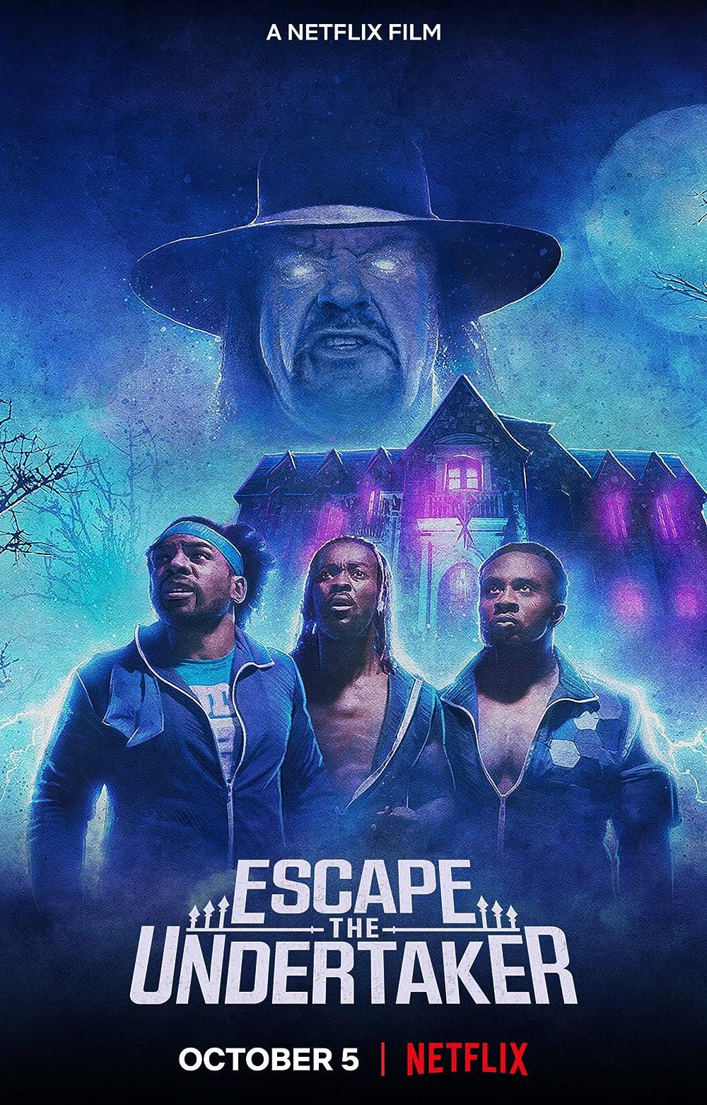 Escape The Undertaker 2021 Hindi ORG Dual Audio 720p NF HDRip ESub 550MB x264 AAC