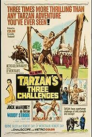 Tarzan's Three Challenges Poster - Movie Forum, Cast, Reviews