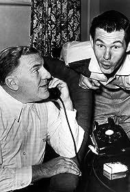 William Bendix and Johnny Carson in Carson's Cellar (1953)