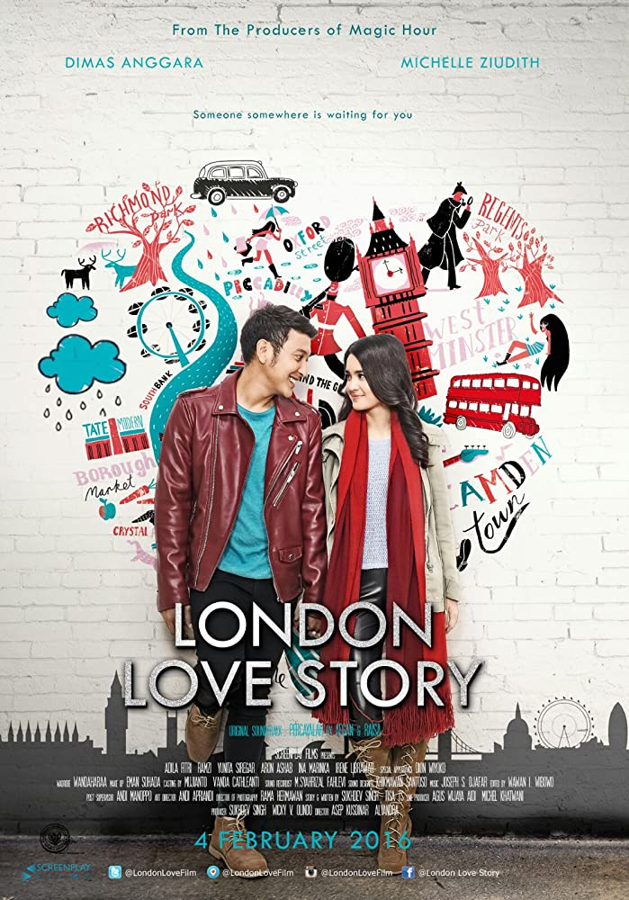 Poster London Love Story