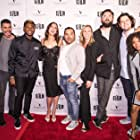Justin Klosky, Usher, Kaily Smith Westbrook, Adam Westbrook, Nick Thune, Shelley Stevens, Sherwin Shilati, Michael Schwartz, Hannah Marie Hines, and Bri Sche Fair in People You May Know (2017)