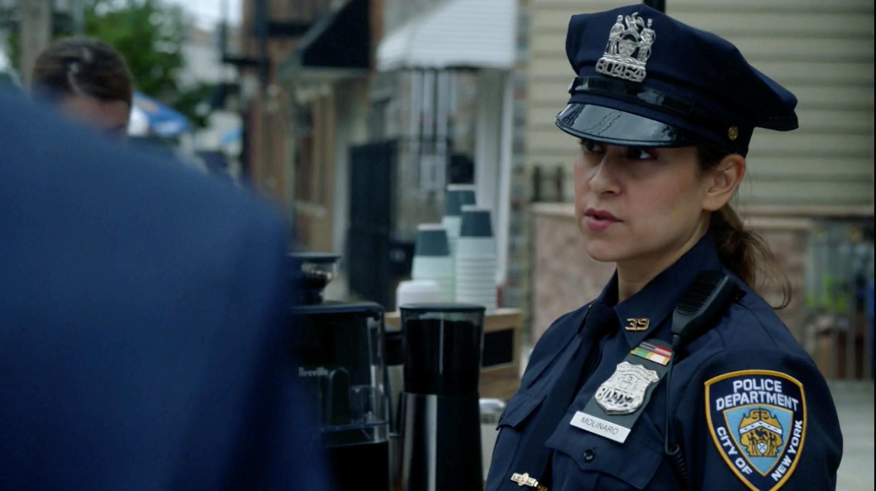 Still of Lisann Valentin as Officer Molinaro in Manifest