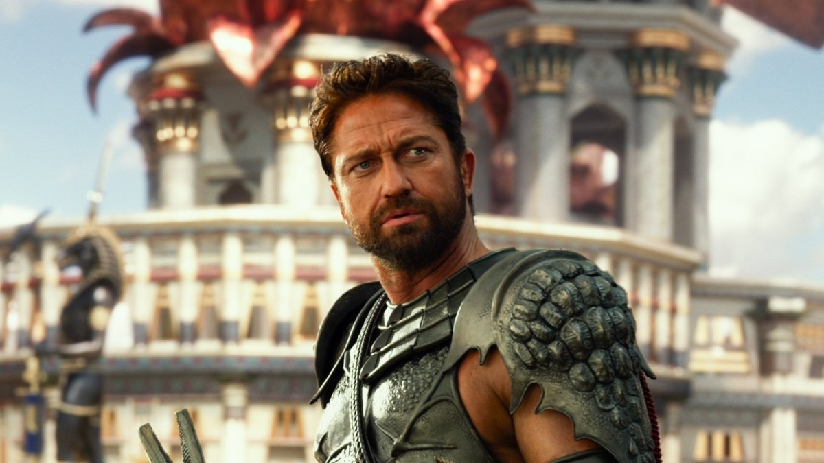 Salah satu adegan di dalam film Gods of Egypt