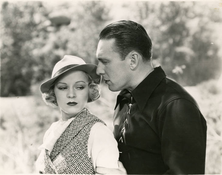 George O'Brien and Claire Trevor in Life in the Raw (1933)