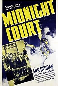 William B. Davidson, Ann Dvorak, Stanley Fields, John Litel, Walter Miller, and Carlyle Moore Jr. in Midnight Court (1937)
