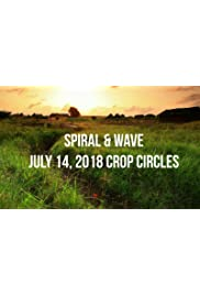 Spiral and Wave - Two July 14, 2018 crop circles