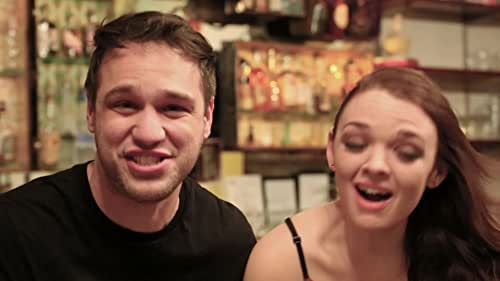 """Katie and Taso get high on helium and introduce """"Prego"""" ~ A short film by Usher Morgan."""