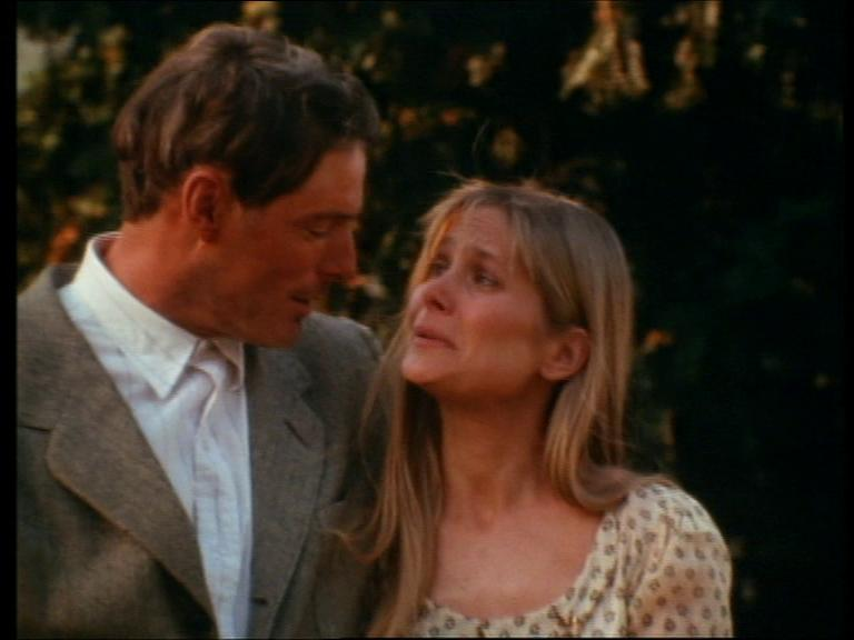 Christopher Reeve and Deborah Raffin in Morning Glory (1993)