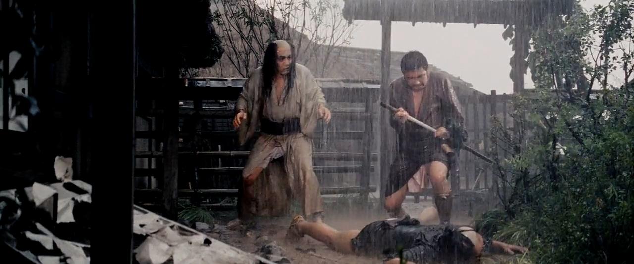 Shintarô Katsu and Rentarô Mikuni in Zatôichi rôyaburi (1967)