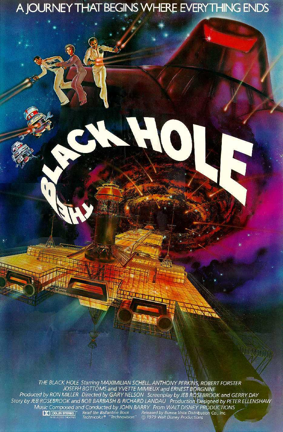 Image result for the black hole poster