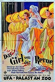 Das Girl von der Revue Poster