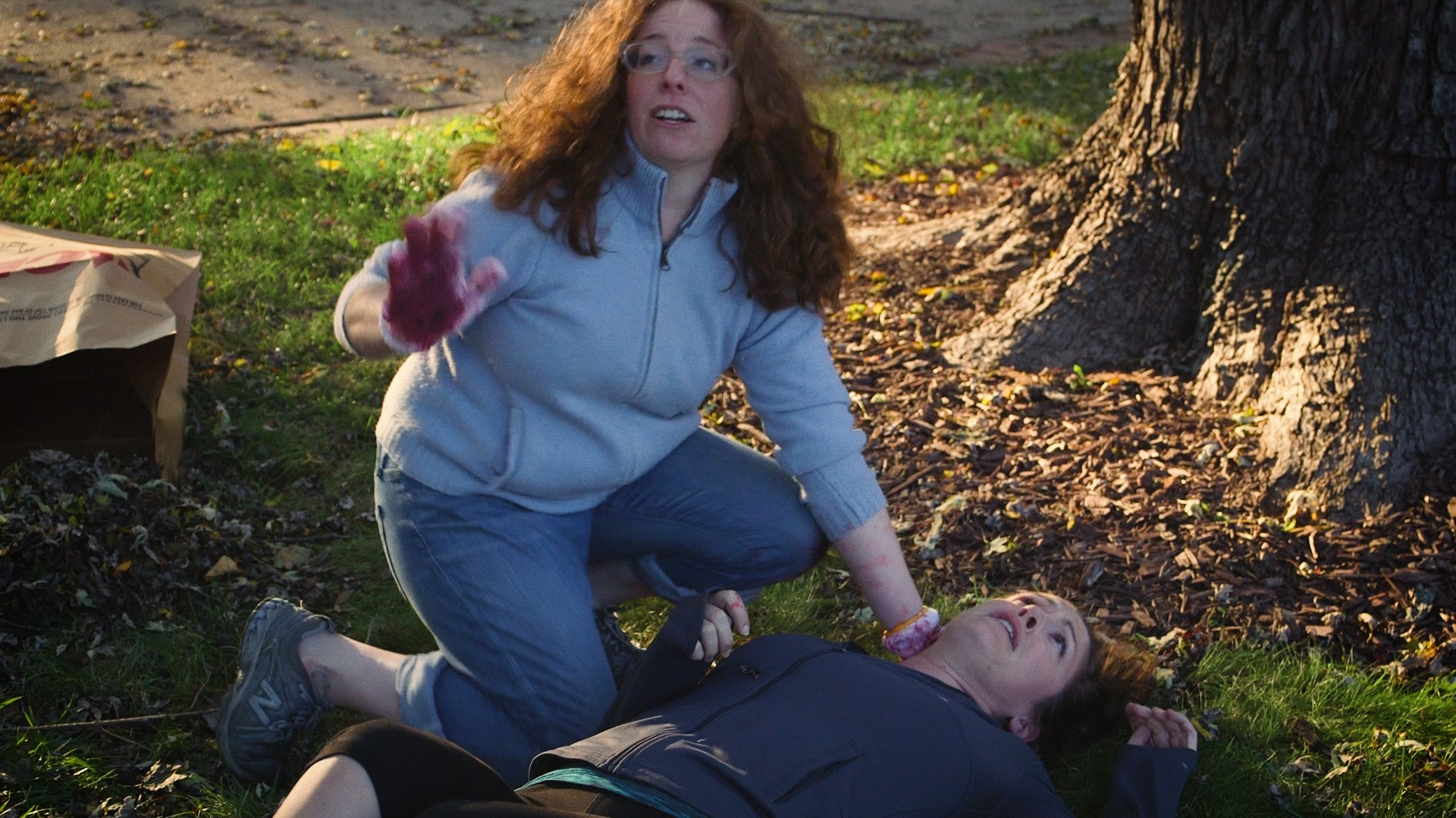 Kyrie Anderson and Carolyn Minor in Limbs (2019)