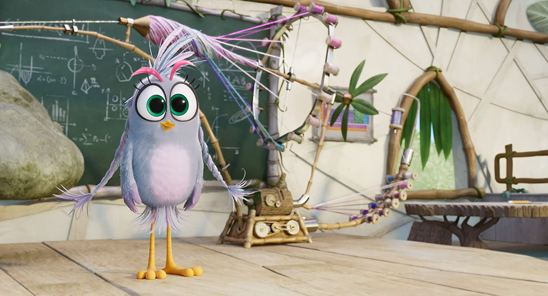 Rachel Bloom in The Angry Birds Movie 2 (2019)