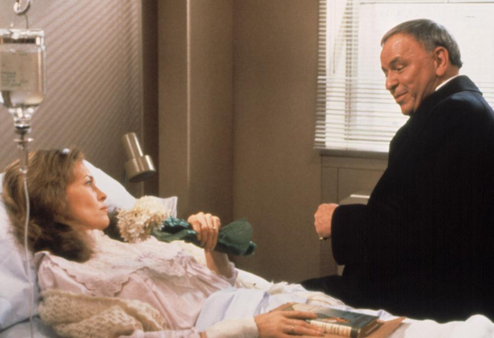 Frank Sinatra and Faye Dunaway in The First Deadly Sin (1980)