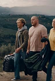 Christopher Lund Nissen, Anders Matthesen, and Ari Alexander in Toscana
