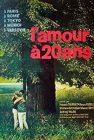 François Truffaut, Shintarô Ishihara, Marcel Ophüls, Renzo Rossellini, and Andrzej Wajda in L'amour à vingt ans (1962)