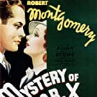 Elizabeth Allan and Robert Montgomery in The Mystery of Mr. X (1934)