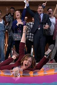 Donna Lynne Champlin, Pete Gardner, and Rachel Bloom in Crazy Ex-Girlfriend (2015)