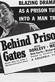 Behind Prison Gates Poster