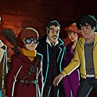 Matthew Lillard, Maurice LaMarche, Grey Griffin, Frank Welker, Kate Micucci, and Noshir Dalal in Scooby-Doo! and the Curse of the 13th Ghost (2019)