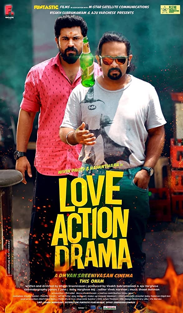 Love Action Drama 2019 Malayalam 720p DVDScr 1.5GB Download