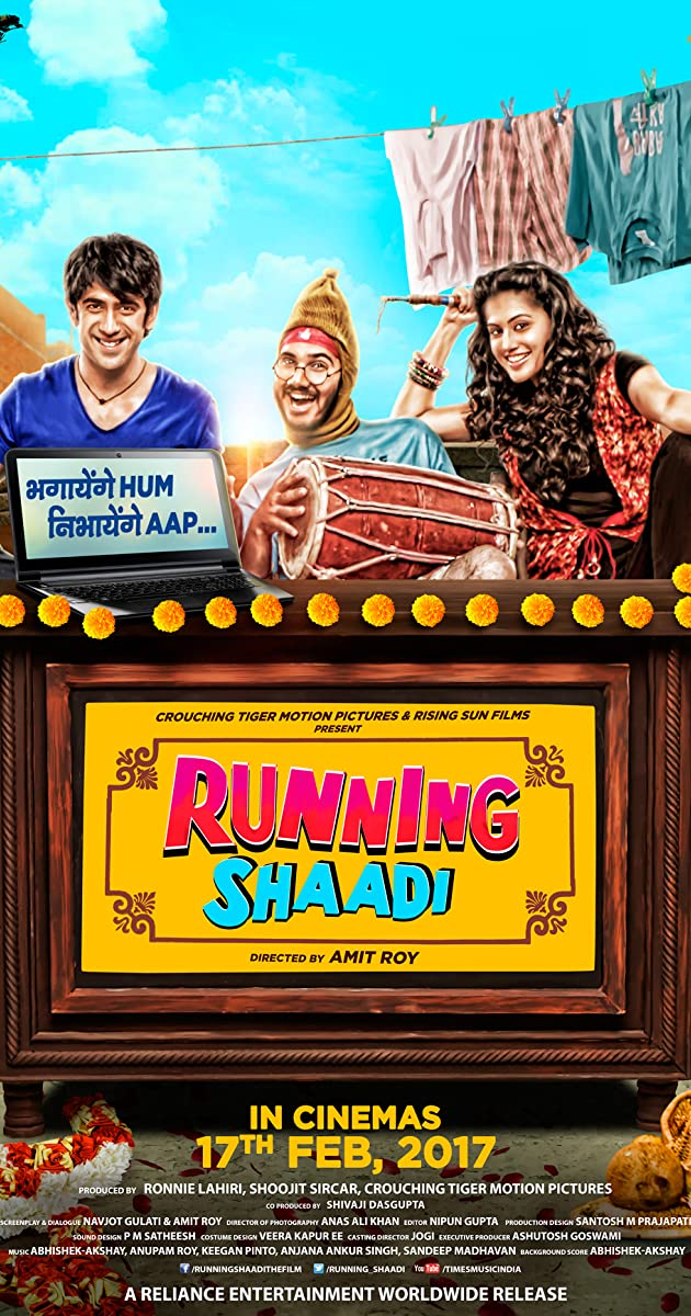Image result for running shaadi poster""