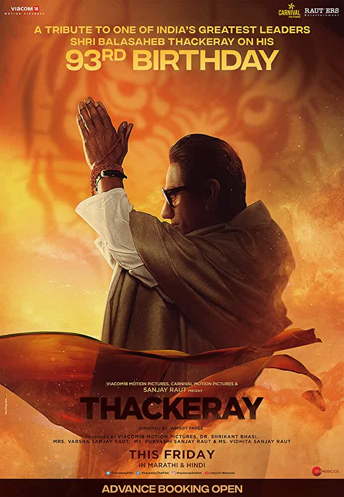 Thackeray (2019) centmovies.xyz