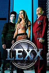 Brian Downey, Michael McManus, and Xenia Seeberg in Lexx (1996)