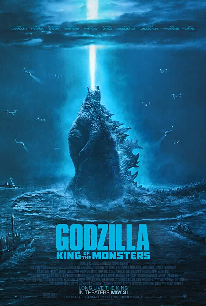 GodZilla: King Of Monsters (2019) Full Movie Download in Hindi | HDRip 1080p 720p 480p | Dual Audio [हिंदी + English] | [GDRIVE]