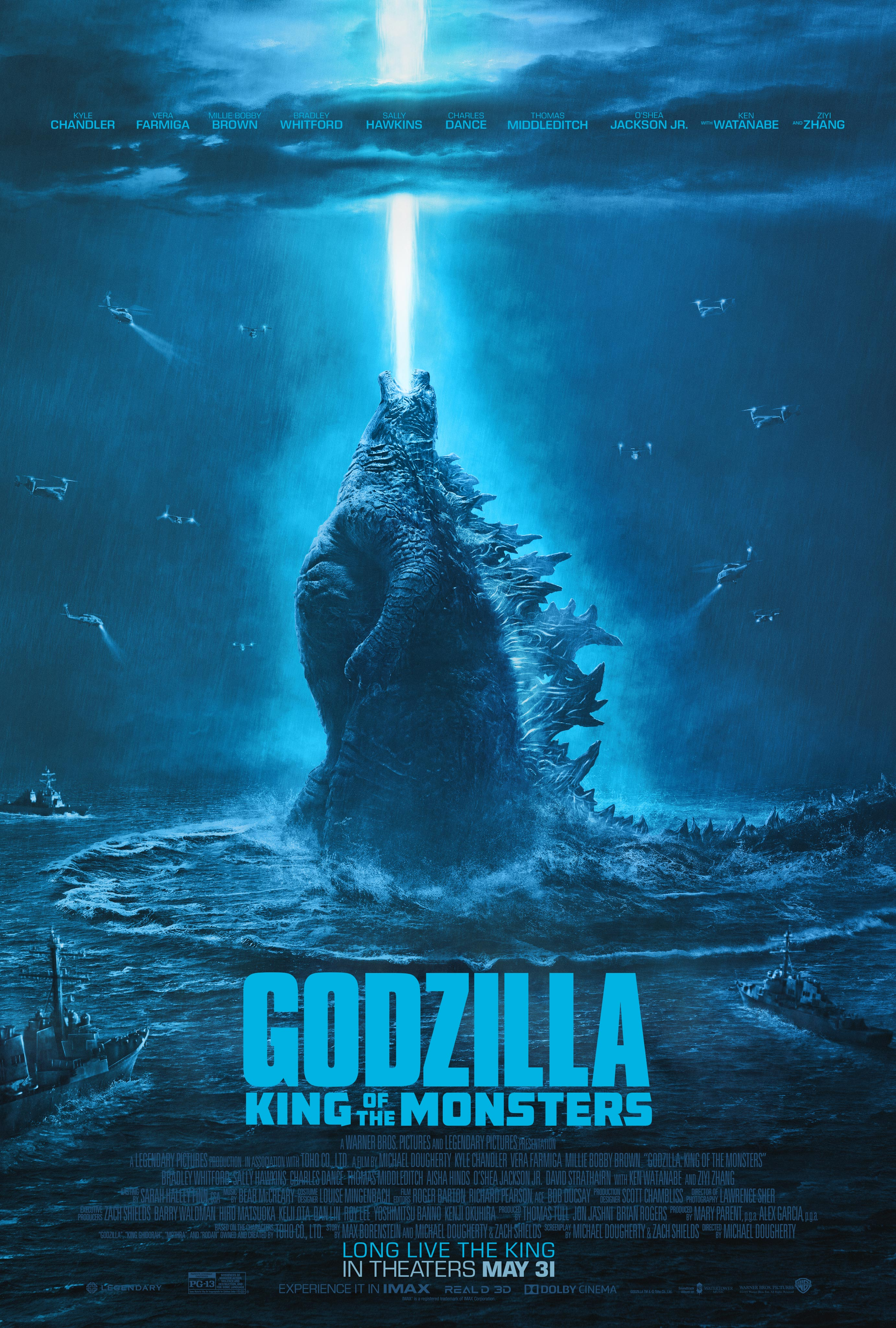 Godzilla: King of the Monsters (2019) WEBRip 720p & 1080p