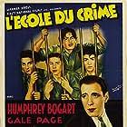 Humphrey Bogart, Huntz Hall, Billy Halop, Bobby Jordan, and Bernard Punsly in Crime School (1938)